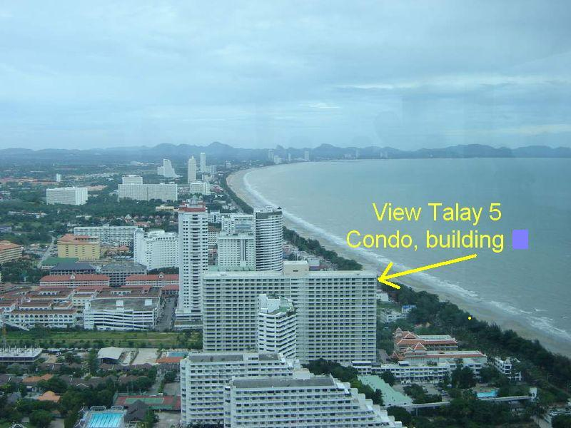 View Talay  Pattaya Beach Condominium Rentals